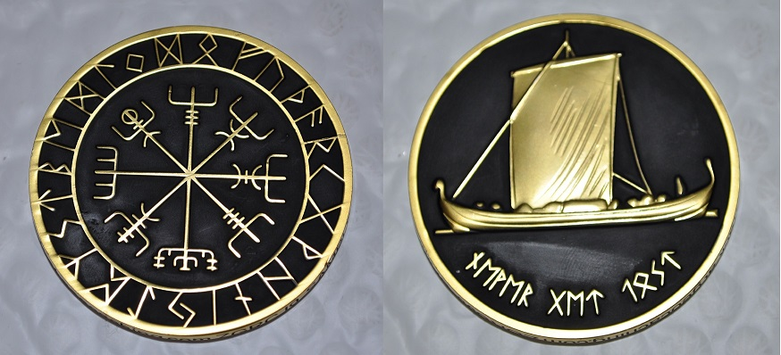 Norwegian Vikings Geocoin.jpg